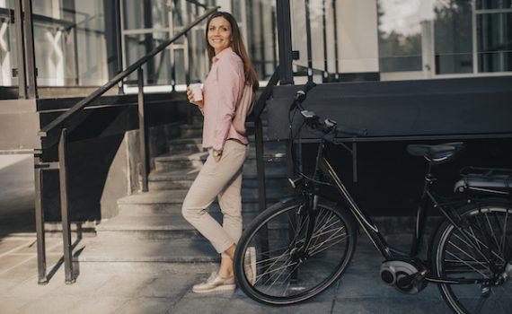 vélo électrique d'entrepruse pour une mobilité durable